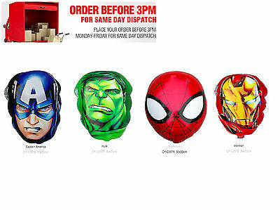 Super Heros Marvel Batman Spiderman Hulk Ironman Captian America Balloon Fast