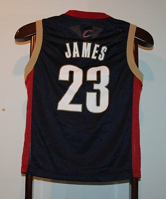 Maillot Trikot Jersey Nba Basketball Lebron James Cleveland Cavaliers 10 ans