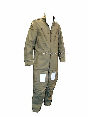 RAF Aircrew COVERALL MK 15 - Green Flight Suit - British Army Military - NEW