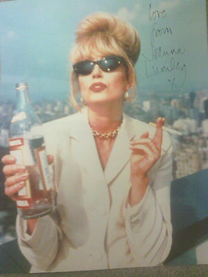 "Joanna Lumley - Absolutely Fabulous - Signed Colour 10"" x 8"""