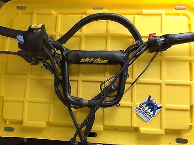 2005 2006 Skidoo Summit 1000 SDI Complete Handlebars with Controls Snowmobile