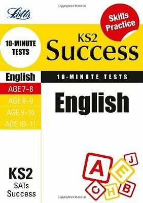 English Age 7-8: 10-Minute Tests (Letts Key Stage 2 Success) by Various Book The