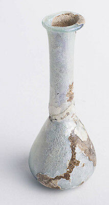 Ancient Roman Glass Bottle c.1st-2nd cen AD.