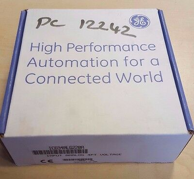New Sealed GE Fanuc IC694ALG220A Input Module Analog 4 Point Voltage