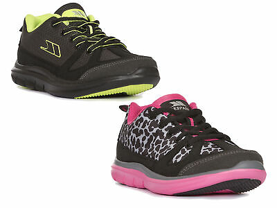Trespass  Elitist Kids School Trainers Active Casual Shoes for Boys Girls