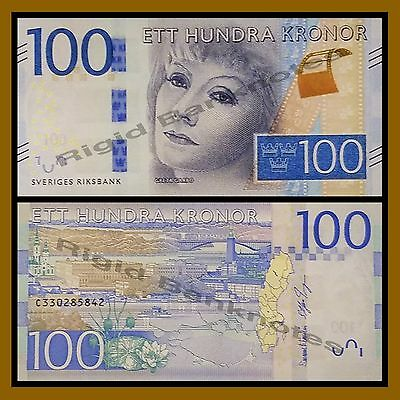 Sweden 100 Kronor, 2016 P-New Greta Garbo Unc
