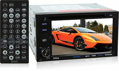 "Boss BV9362BI Double-DIN Bluetooth DVD Car Stereo Receiver w/ 6.2"" TouchScreen"