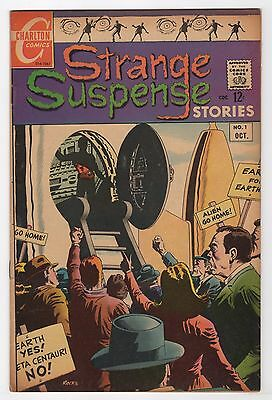Strange Suspense Stories #1    (Charlton Comics 1967)   FN