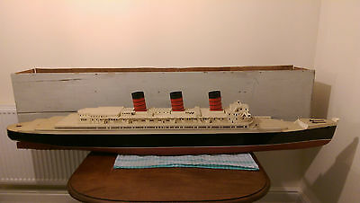 Large scale RMS Queen Mary Model Boat RC Ship Cunard. Cruise Ocean Liner