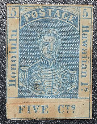 Hawaii Scott 8 position 17 unused. Fine with small faults. CV $700