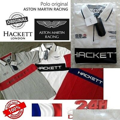 Offer -59% Polo ASTON MARTIN by Hackett - AUTHENTIQUE - S / M / LOffer -59% Polo