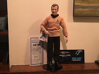 Star Trek - Captain Kirk - 14 inch Porcelain Doll