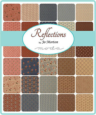 Patchwork/quilting Fabric Moda Charm Squares/packs - Reflections
