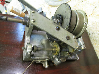 1916 Hand Crank Phonograph Motor Reproducer Tone Arm and More Parts Same Machine