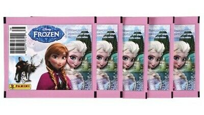 Panini Disney Frozen Album Stickers lot of 5 Unopened Packs, 35 Stickers