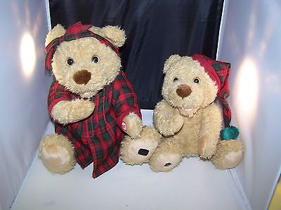 Avon 2000 Interactive Christmas Mom And Baby Bear