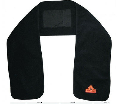 TechNiche 5519 ThermaFur Air-Activated Heated Heating Scarf Black New