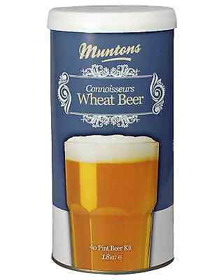 Muntons Connoisseurs Wheat Beer Home Brew Kit 1.8kg Bar Accessories