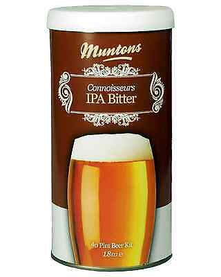 Muntons Connoisseurs IPA Home Brew Kit 1.8kg Bar Accessories
