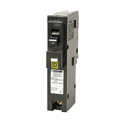 Square D by Schneider Electric HOM120PCAFIC Homeline Plug-On Neutral 20 Amp ,