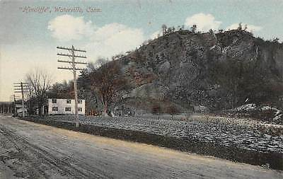 "WATERVILLE, CT ~ VIEW OF ""HINCLIFFE"" ~ AUGUST SCHMELZER CO PUB. ~ c.1910"