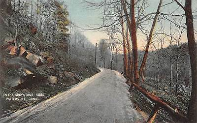 WATERVILLE, CT ~ ON GREYSTONE ROAD ~ AUGUST SCHMELZER CO., PUB. ~ c. 1910