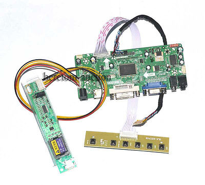 HDMI+DVI+VGA LCD Controller Board For LP133WX1-TLB1 LP133WX1 1280X800 30pin LVDS