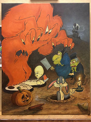 The Monsters Are Hare! Bugs Bunny (cel) related art Signed Mike Kupka