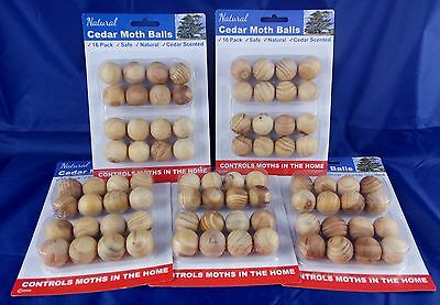 80 Pcs Cedar Moth Balls wardrobe repellent Clothes Insects Natural Wood Drawer