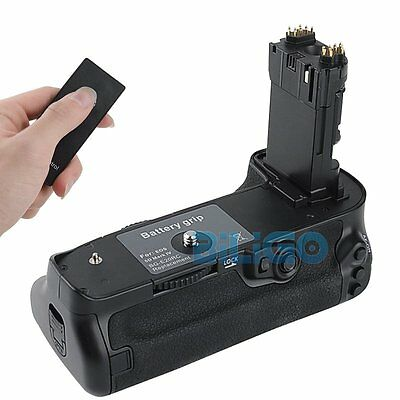 Vertical Battery Grip Holder Pack + Remote Control For Canon EOS 5D Mark IV 5DIV