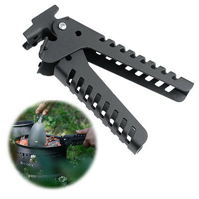 Outdoor Camping Pot Pan Bowl Gripper For Cookware Backpacking Picnic Handle Clip