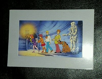 "RARE Scooby-Doo Collectible Litho Cel Hanna-Barbera ""Near The Fear"""