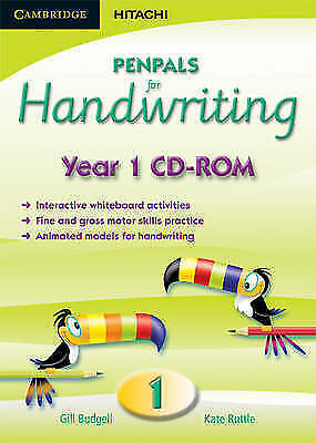 Penpals for Handwriting Year 1 CD-ROM by Ruttle, Kate, Budgell, Gill