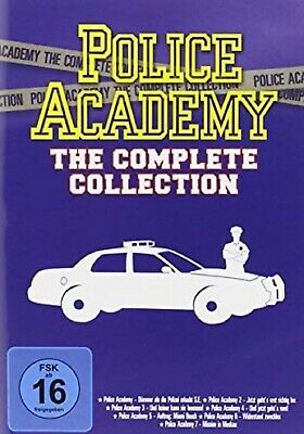 Police Academy Box - Complete Collection - Komplettbox - Teil 1-7 NEU OVP 7 DVDs