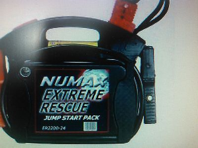 ER4400-12/24 Numax Extreme Rescue Jump Start Pack FATHERS DAY GIFT