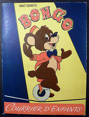 Walt Disney Bongo Courrier d'enfants Ed. Hachette TBE