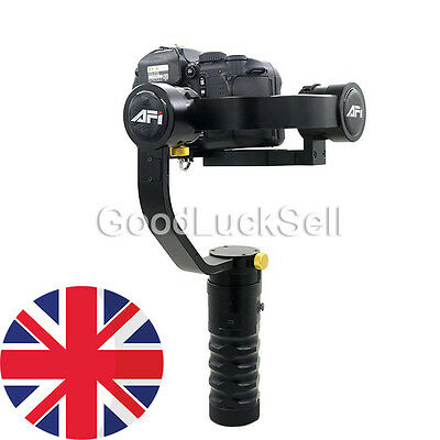 2017 AFI 3 Axis Handhled Gimbal Stabilizer for 5D 6D 7D Dslr as Beholder DS1 MS1
