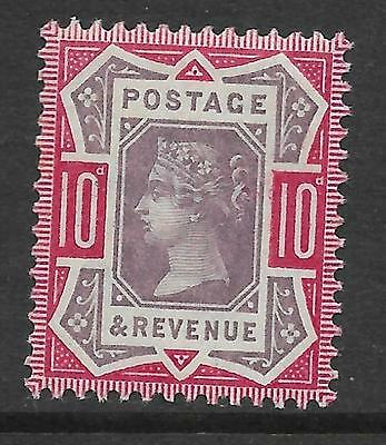 Sg 210 10d Purple & Carmine Jubilee UNMOUNTED MINT/MNH