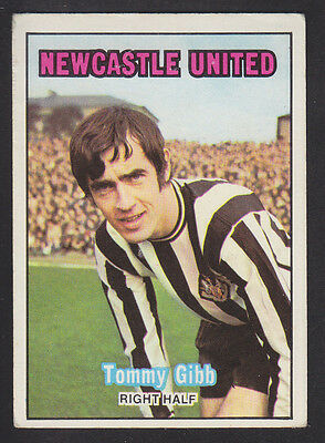 A&BC - Footballers Scottish (Green Back 1-85) 1970 - # 57 Tommy Gibb - Newcastle