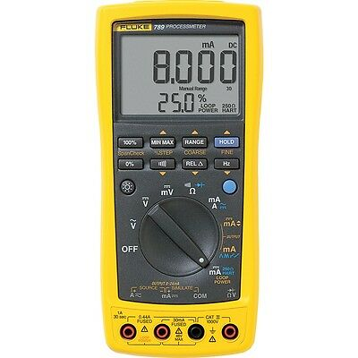 Fluke 789 Process Meter with 0.05% DC Current Accuracy & Frequency to 20 kHz