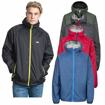 Trespass Rocco II Mens Waterproof Jacket with Hood Windproof & Breathable