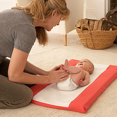 By Carla Stain Resistant Changing Mat, Red