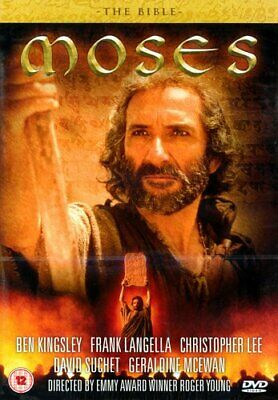 The Bible - Moses [1995] [DVD] - DVD  8UVG The Cheap Fast Free Post