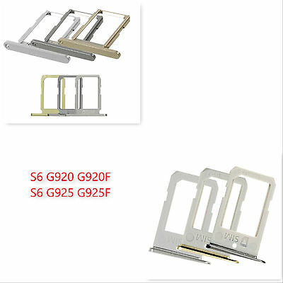 Sim Card Holder Tray Slot Eject Pin For Samsung Galaxy S6 S6 Edge