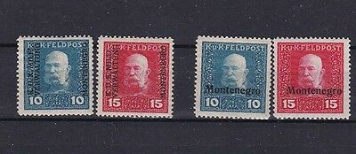 1917/8 Sc 1N1/4,two sets  h147