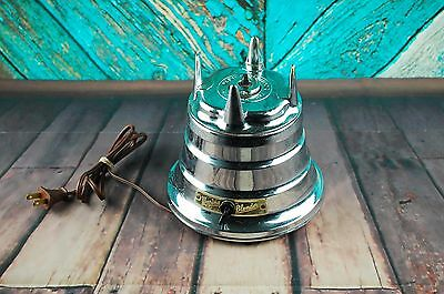 Waring Blender blendor Base Only Replacement Cat No 702 Chrome