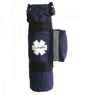 LINE2design EMS Oxygen Sleeve Bag - Star of Life Logo - Navy
