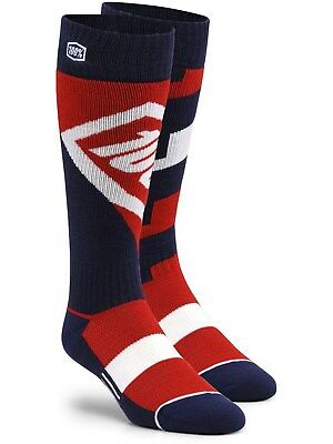 100 Percent Red Torque MX Socks