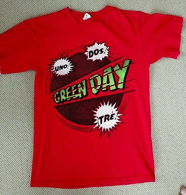 GREEN DAY 99 Revolutions Tour 2-Sided Concert T-Shirt Mens/Adult Size S