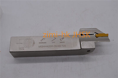 FGHH425R/ MGHH425R-35/48-T25 Face Groove / Plane grooving FOR MGMN400-M INSERT